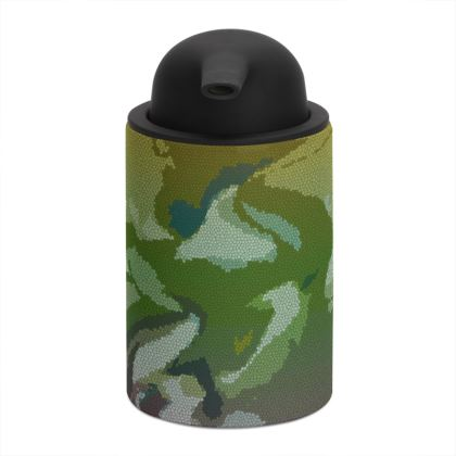 Soap Dispenser - Honeycomb Marble Abstract 4
