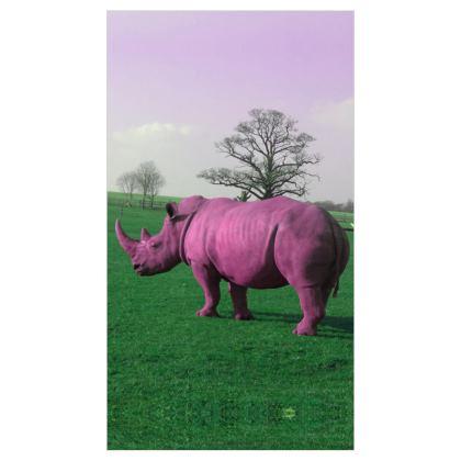 Roller Blinds - (91cmx162cm) - Pink Rhino