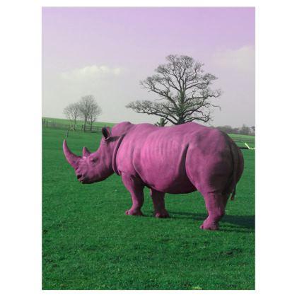 Roller Blinds - (122cmx162cm) - Pink Rhino