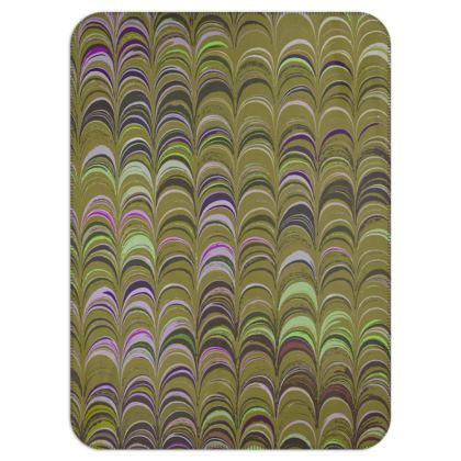 Single Layer Blankets - Around Ex Libris Yellow Remix (1800 -1950)