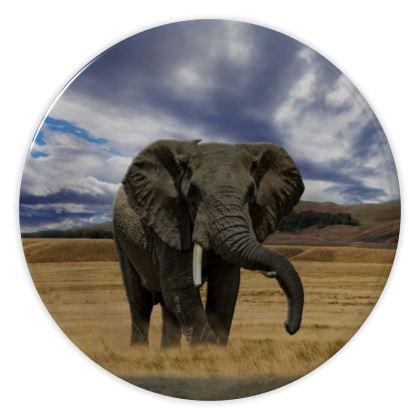 China Plates - Savannah Wildlife