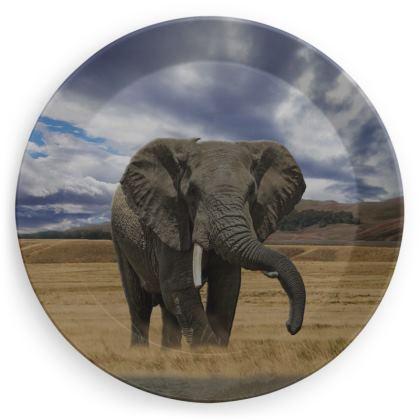 Party Plates - Savannah Wildlife