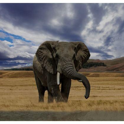 Serving Platter - Savannah Wildlife