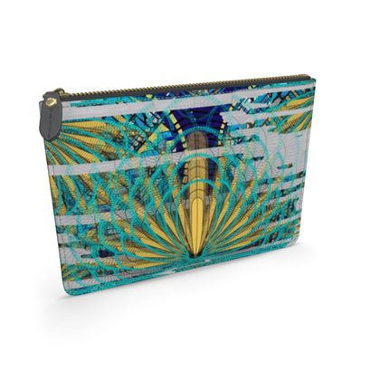 River Nile Ma'at Wings - Leather Pouch