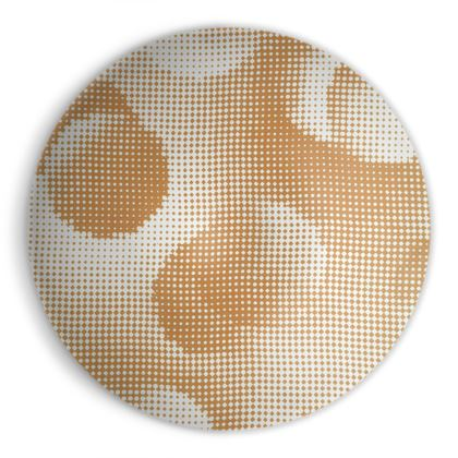 Ornamental Bowl - Endleaves of Art. Taste. Beauty (1932) Orange Remix