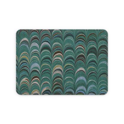 Leather Card Case - Around Ex Libris Jade Remix (1800 -1950)