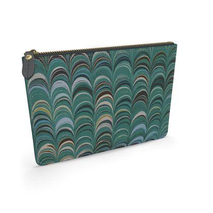 Leather Pouch - Around Ex Libris Jade Remix (1800 -1950)