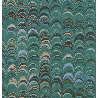 Mens Wallet - Around Ex Libris Jade Remix (1800 -1950)