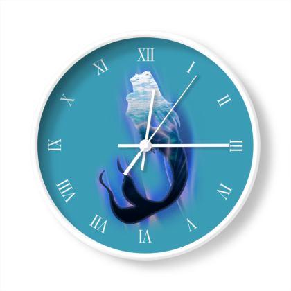 Wall Clocks - Magical Mermaid