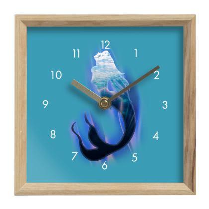 Mantle Clock - Magical Mermaid