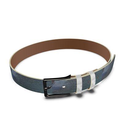 Leather Belt - Welsh Ocean