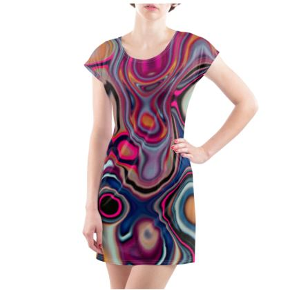 Ladies Tunic T Shirt Fashion Circles 2