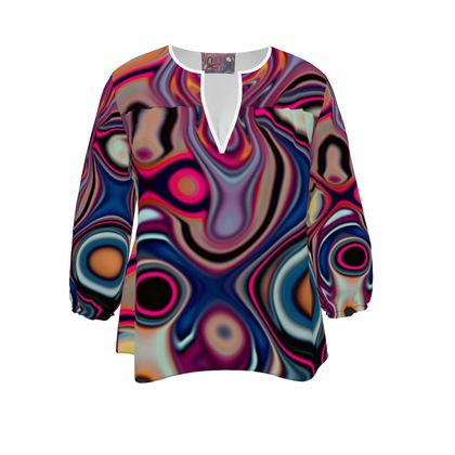 Womens Blouse Fashion Circle 2