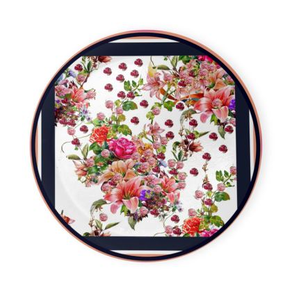 piattini  sottobicchieri linea il giardino fiorito