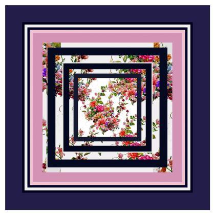 Piatto in ceramica artistico dalla collezione il giardino fiorito