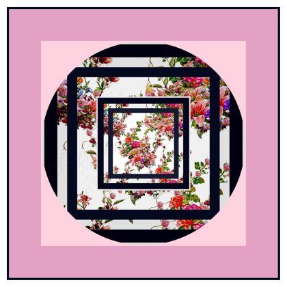 piatto  da tavola linea il giardino fiorito