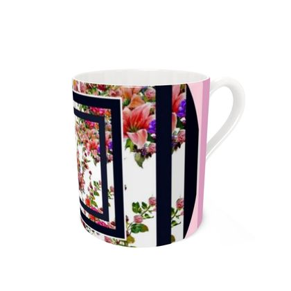 tazza linea il giardino fiorito