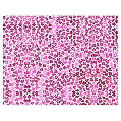 Leopard Skin in Magenta Collection Handbags