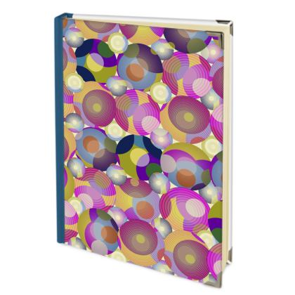 Moon Collection on cream Address Book