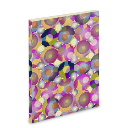 Moon Collection on cream Pocket Note Book