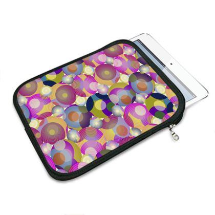 Moon Collection on cream IPad Mini Slip Case