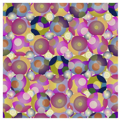 Moon Collection on cream Luggage Tags