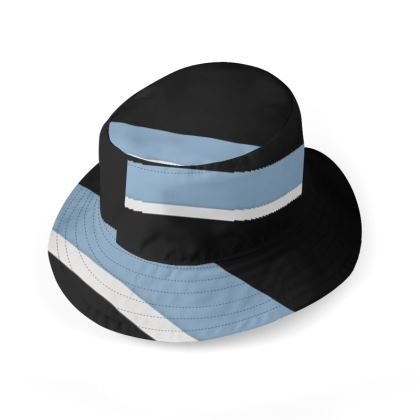 Cappello con disegno artistico linea Il mare dentro