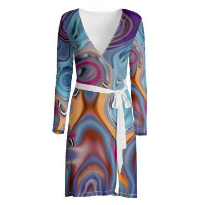 Wrap Dress Fashion Circle 3