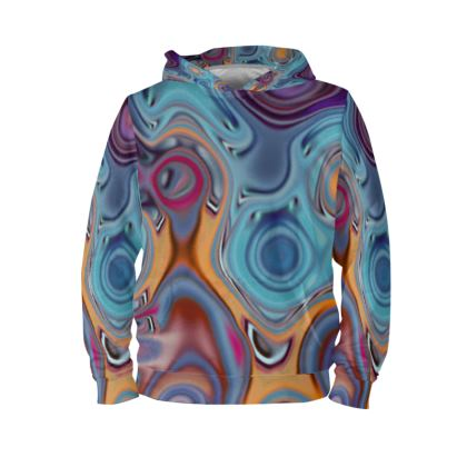 Hoodie Fashion Circles 3