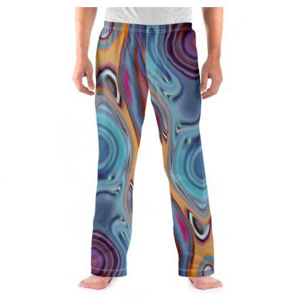 Mens Pyjama Bottoms Fashion Circles 3