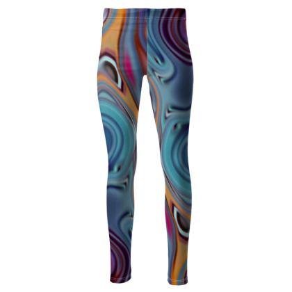 High Waisted Leggings Fashion Circles 3