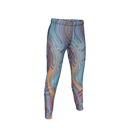 Womens Jogging Bottoms Fashion Circle 3