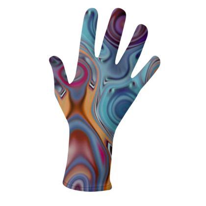 Lycra Gloves Fashion Circles 3