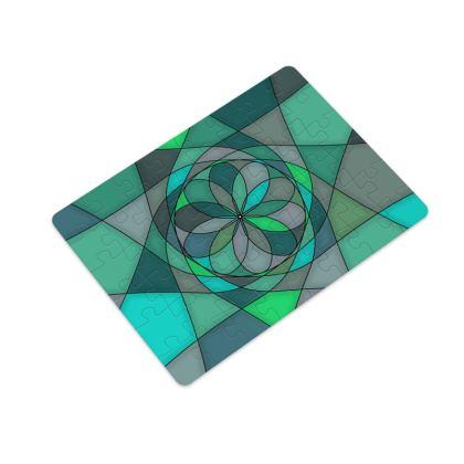 Plastic Jigsaw Puzzle 48 Pieces - Jade spiral