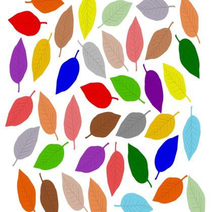 Cushion Leaf Design