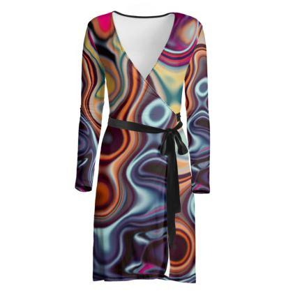 Wrap Dress Fashion Circle 4