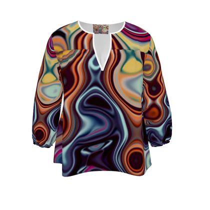 Womens Blouse Fashion Circle 4