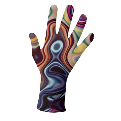 Lycra Gloves Fashion Circles 4