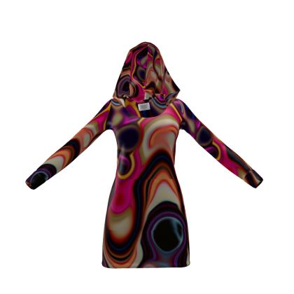 Hoody Dress Fashion Circles 5
