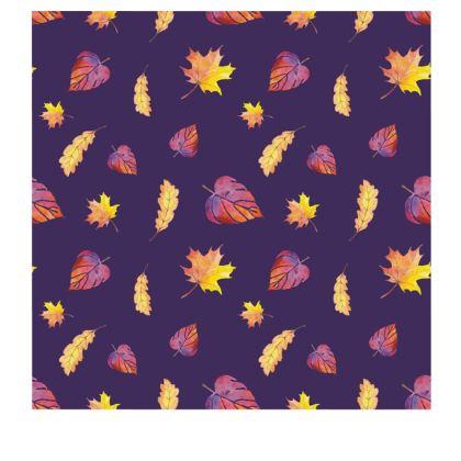 Purple Autumn slip dress