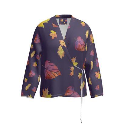Purple Autumn blazer