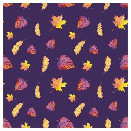 Purple autumn stool chair