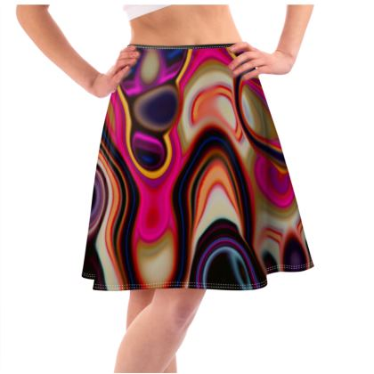 Flared Skirt Fashion Circle 5