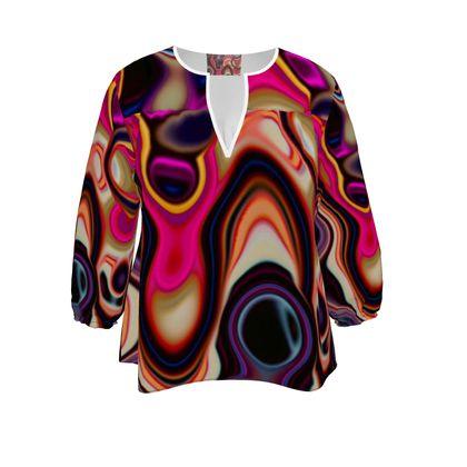 Womens Blouse Fashion Circle 5