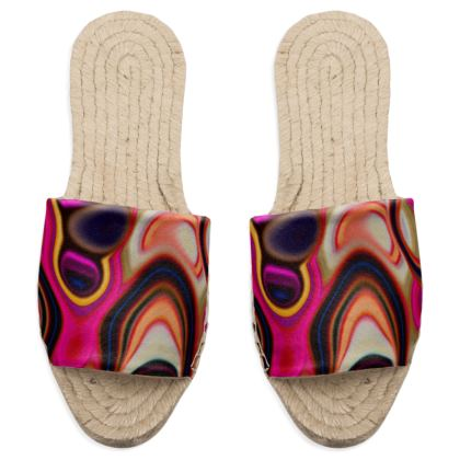 Sandal Espadrilles Fashion Circle 5
