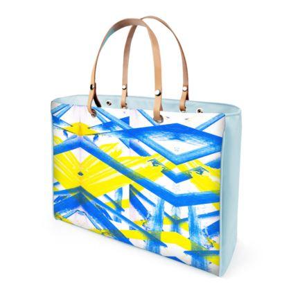 DELLA SPENCER ENTITY PAINT PRINT Handbags