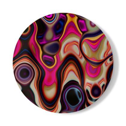 Decorative Plate Fashion Circle 5