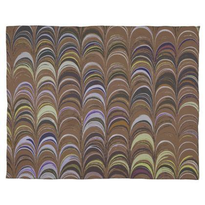Scarf Wrap Or Shawl - Around Ex Libris Brown Remix (1800 -1950)
