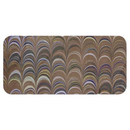 Blanket Scarf - Around Ex Libris Brown Remix (1800 -1950)