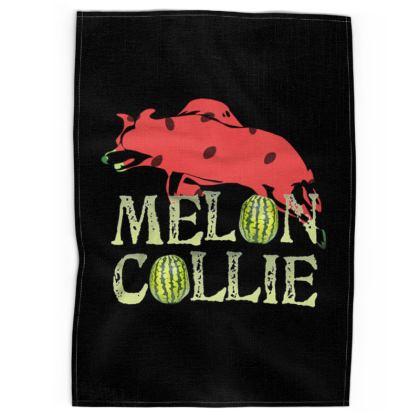 Tea Towels - Melon Collie Skateboard Trick